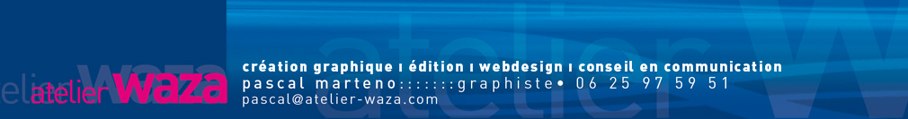 Creation graphique, webdesign, edition